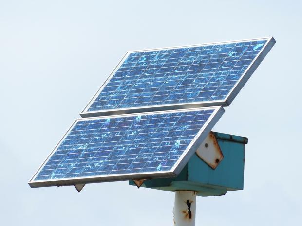 Solar Panel Inaguration At Earth Headquarters